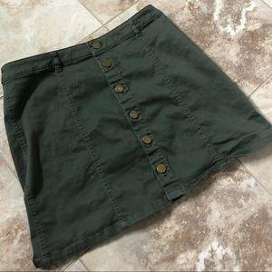 Dresses & Skirts - Button Up Mini Skirt